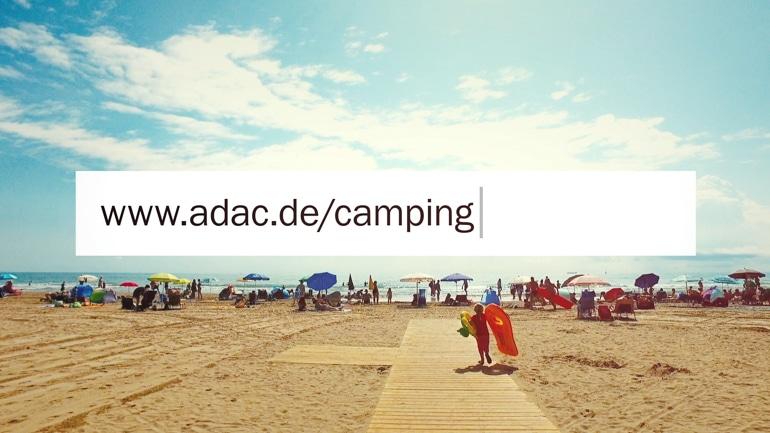 ADAC Campingwelt Produktvorstellung